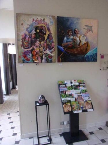 Expositions au Château de Lagord - Juin 2021 - FABY